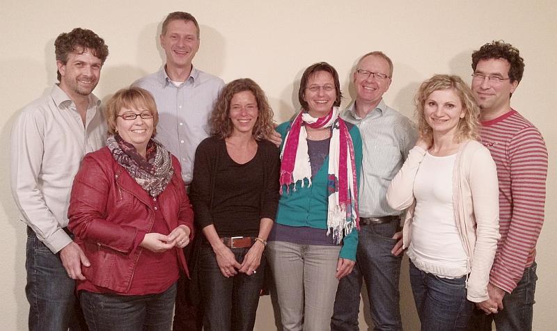 Das Team des Arbeitszweiges im November 2014